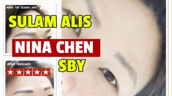 Jasa Sulam Alis Nina Chen Di Kecamatan Wonocolo Jambangan | WA 082334366966