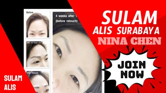 Jasa Sulam Alis Nina Chen Di Kecamatan Wonokromo | WA 082334366966